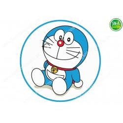 Oblea para Tarta Doraemon