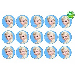 Oblea para Galletas Frozen...