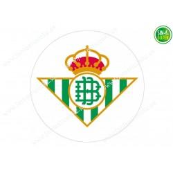 Oblea para tarta Real Betis...