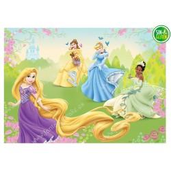 Oblea para tarta Princesas...