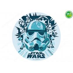 Oblea para tarta Star Wars