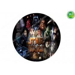 Oblea para tarta Star Wars 2
