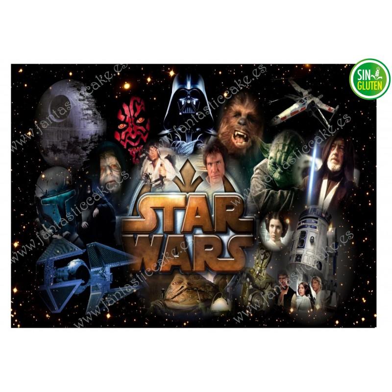 Oblea para tarta Star Wars Nº 297
