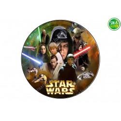 Oblea para tarta Star Wars 4