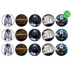 Obleas para Galletas Star Wars