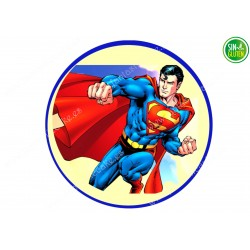 Oblea para tarta Superman