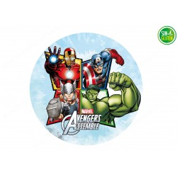 Oblea Comestible Hulk,...