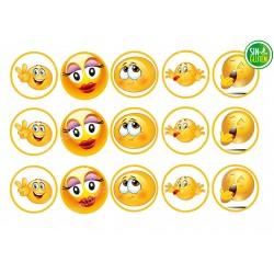 Emojis - Obleas para Galletas Nº 527