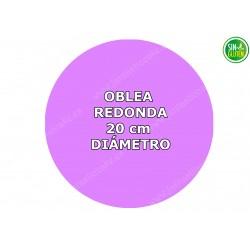 Oblea Personalizada Redonda...