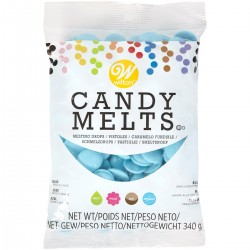 CANDY MELTS AZUL WILTON
