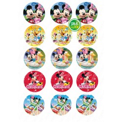 Oblea galletas Mickey y amigos