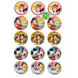 Oblea para galletas Mickey...