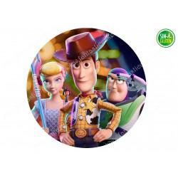 Oblea Redonda Toy Story