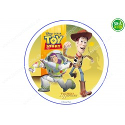 Oblea de Toy Story redonda...