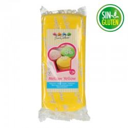Fondant funcakes color amarillo 1 kg - sin gluten - Fantastic Cake