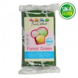 Fondant funcakes color verde bosque 250 grs -  sin gluten - Fantastic Cake
