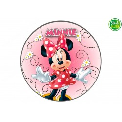 Impresión Comestible - OBLEA PARA TARTAS Minnie Mouse - SIN GLUTEN - FANTASTIC CAKE