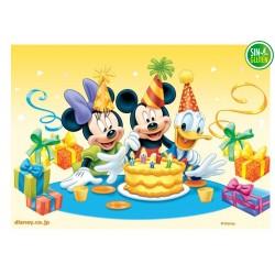 OBLEA PARA TARTA DE MICKEY Y AMIGOS DE CUMPLEAÑOS - SIN GLUTEN - FANTASTIC CAKE