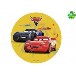 Oblea Comestible para Tarta Cars y Doc Hudson - PAPEL DE AZÚCAR - SIN GLUTEN - FANTASTIC CAKE