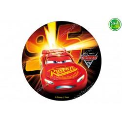 Impresión Comestible para Tarta Cars 95 - PAPEL DE AZÚCAR CARS - SIN GLUTEN - FANTASTIC CAKE