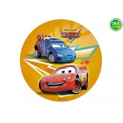 Oblea Comestible para Tarta Cars y GRC - PAPEL DE AZÚCAR DE CARS - SIN GLUTEN - FANTASTIC CAKE