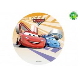 Oblea para Tarta Cars - GRC - PAPEL DE AZUCAR CARS - SIN GLUTEN - FANTASTIC CAKE