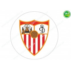 Oblea para tarta Sevilla Fútbol Club - Papel de azúcar para tarta Sevilla Fútbol Club - sin gluten - Fantastic Cake