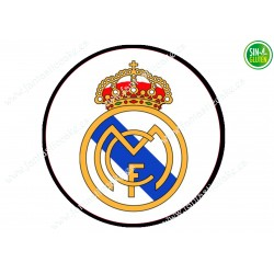 Oblea para tarta Real Madrid - Papel de azúcar para tarta Real Madrid - sin gluten - Fantastic Cake