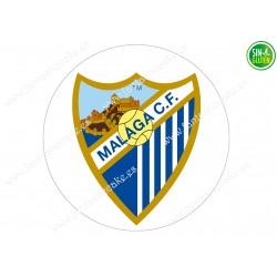 Oblea para tarta Málaga Club de Fútbol - papel de azúcar para tarta Málaga Club de Fútbol - sin gluten - Fantastic cake