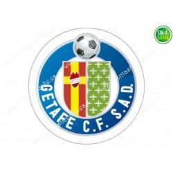Oblea para tarta Getafe Club Fútbol - papel de azúcar para tarta Getafe Club Fútbol - sin gluten - Fantastic Cake