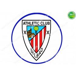 Oblea para tarta Atletic Club Bilbao - papel de azúcar para tarta Atletic Club Bilbao - sin gluten - Fantastic Cake