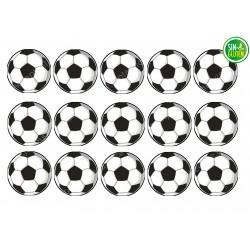 Oblea para Galletas Balones de Fútbol - papel de azúcar para Galletas Balones de Fútbol - sin gluten - Fantastic cake
