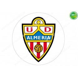 Oblea para tarta Fútbol Unión Deportiva Almería -papel de azúcar para tarta Fútbol Unión Deportiva Almería - sin gluten