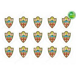 Oblea para Galletas Unión Deportiva Almería - papel de azúcar para Galletas Unión Deportiva Almería - sin gluten