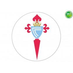 Oblea para tarta Fútbol Real Club Celta de Vigo - papel de azúcar para tarta Fútbol Real Club Celta de Vigo