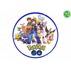 Oblea para tarta Pokémon Go Nº 241