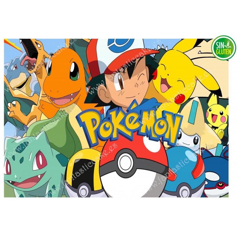 Impresión para tarta Pokémon Nº 243