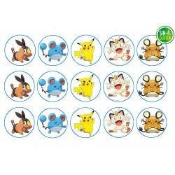 Obleas para Galletas Pokémon Nº 245