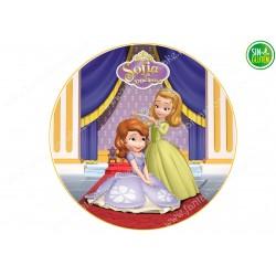 Oblea para tarta Princesa Sofía Nº 252