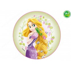 Oblea para tarta Rapunzel Nº 253
