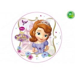 Oblea para tarta Princesa Sofía Nº 256