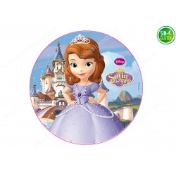 Oblea para tarta Princesa Sofía Nº 258
