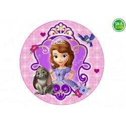 Oblea para tartas Princesa Sofía Nº 261