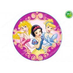 Oblea para tarta Princesas Nº 265