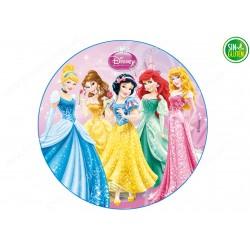 Oblea para tarta Princesas Nº 266