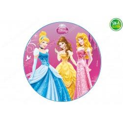 Oblea para tarta Princesas Nº 269