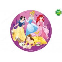 Oblea para tarta de las Princesas Nº 270