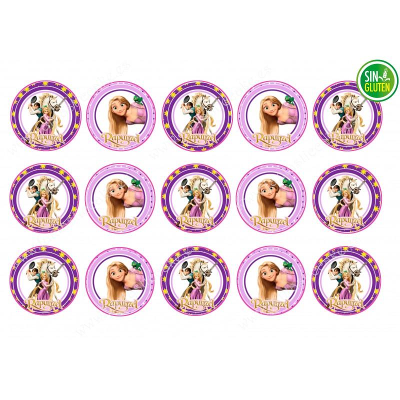Obleas para Galletas Rapunzel Nº 283