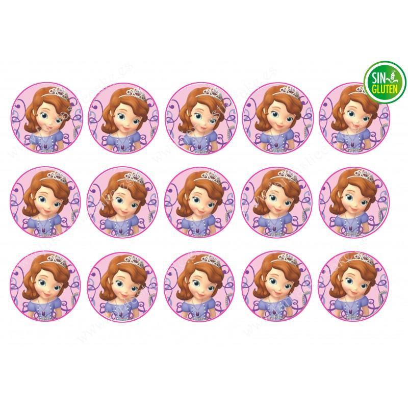 Obleas para Galletas Princesa Sofía Nº 284