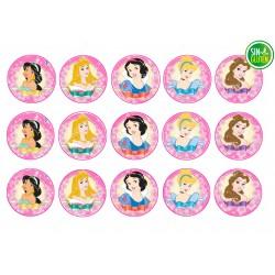 Obleas para Galletas Princesas Nº 286